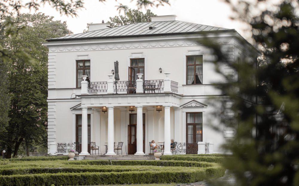 Fotografia architektury - Pałac wRozalinie