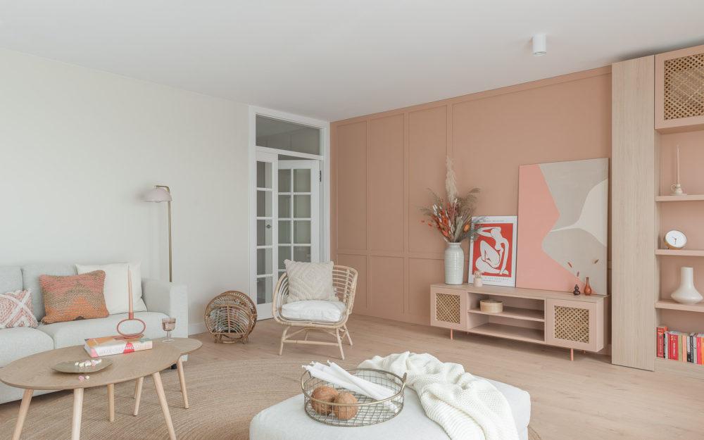 Pastelowe mieszkanie wGdańsku – projekt architekta
