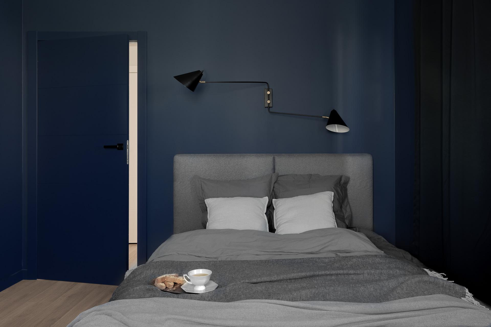 Fotografia wnętrz sypialni apartamentu dla architekta Trójmiasto